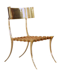 Klismos chairs from Scala Luxury